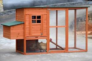 X-Large Ferret Rabbit Hutch Chicken Coop with Nesting Box and Run Mordialloc Kingston Area Preview