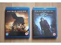 Batman Begins and Batman The Dark Knight - Like new condition, watched one or two times £10 for both