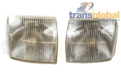 Range Rover P38 00-02 Front Clear LH & RH Indicator Light Lamp XBD100920/30