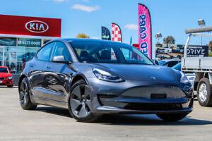 2020 Tesla Model 3 MY21 Standard Range Plus Grey 1 Speed Reduction Gear Sedan
