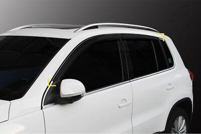Accesorio Para VW Tiguan 2008-2018 Derivabrisas Repelente 4-er Kit Tintado
