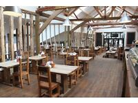 Part time Front of House staff needed for Jimmy's Farm Restaurant, Ipswich.