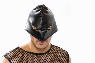 FM - geschnürte Maske schwarz SM Henker Karneval Fasching