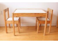 Ikea Children's Table & Chairs