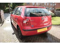 VW Polo 1.2S 5 Door, 52 Plate Red - Would make a great first car!!