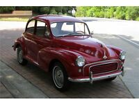 Morris Minor wanted
