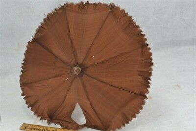 "parasol umbrella small 18"" child carved handle original antique repair for sale  Shipping to Canada"