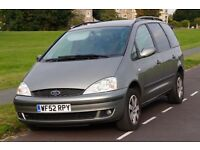 Ford Galaxy Zetec TDI, MOT to August 2017