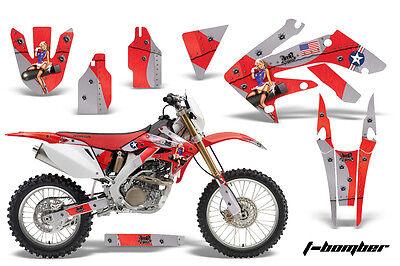 Dirt Bike Decal Graphics Kit MX Sticker Wrap For Honda CRF250X 2004-2017 TBOMB R