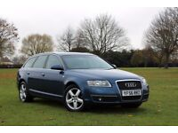 2006 AUDI A6 AVANT 2.0 TDI ESTATE 7 SPEED AUTOMATIC SAT NAV LOW MILES FULL HISTORY CLEAN CAR A4