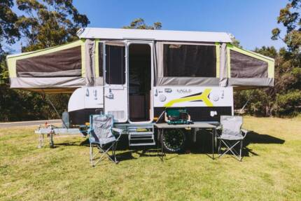 2017 Jayco Eagle Camper Trailer FOR HIRE in Gippsland from $70pn