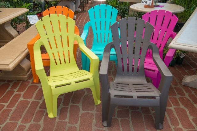 Outdoor garden patio furniture plastic chair adirondack for Outdoor furniture gumtree