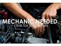 Clich for Job now mechanic needed at the garage?