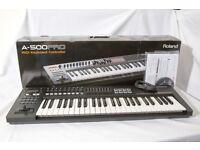 Roland A-500 Pro USB Midi 49 Key Controller Keyboard