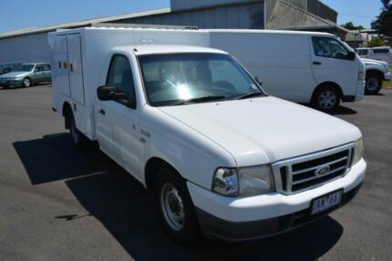 2005 Ford Courier Diesel Single Cab with Box Warragul Baw Baw Area Preview