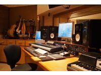 Music Studio Sessions/Visuals Recording, Editing, Mixing & Mastering