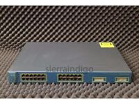 2 Cisco Catalyst 3550 CCNA CCNP Lab Practice Networking