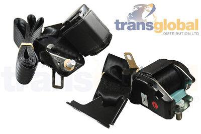 Front LH & RH Seat Belt Assembly for Land Rover Defender TD5 EVB000550LNF/540LNF
