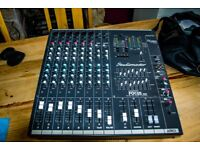 Studiomaster powered mixer DOES NOT WORK
