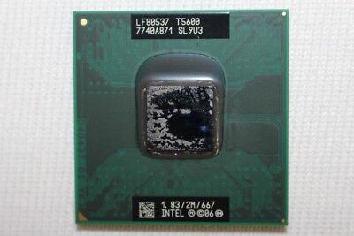 Intel Core 2 Duo T5600 1.83GHz Mobile CPU Processor SL9U3 Core 2 Duo T5600 Mobile