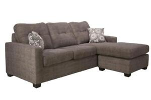 LEATHER SECTIONAL SALE | ST CATHARINES, ONTARIO | MODERN COUCHES FOR SMALL SPACES | WWW.KITCHENANDCOUCH.COM(BD-218)