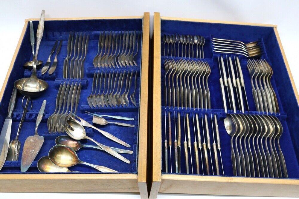WMF Besteck 3500 Paris 116 teilig 90er Silberauflage