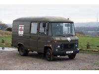 Details about Mercedes 508d Ex Dutch Military Ambulance Camper Campervan Motorhome Foodtruck