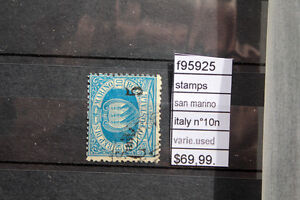 STAMPS ITALY SAN MARINO N°10n VARIETY USED (F95925) - Italia - STAMPS ITALY SAN MARINO N°10n VARIETY USED (F95925) - Italia