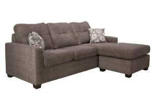 Sale on Sectional Sofas | Shop Most Comfortable 2-pc Fabric Sectional Set Made in Canada (AC2001)