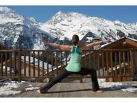 Yoga holidays in the French Alps