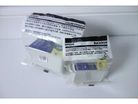 Genuine Epson ink printer cartridges - sealed - T007 T009