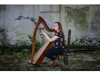 Harpist Available for Weddings, Events and Services - Harp Music