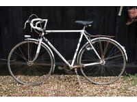 Vintage men's and ladies Peugeot racing bikes