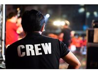 URGENT - EXPERIENCED SOUND ENGINEER / ROADIE REQUIRED FOR A DJ & EVENTS COMPANY
