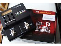 Line6 M5 stompbox modeller