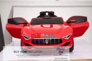 Licensed Maserati Alfieri- 12volt- Parent Remote - Touch screen
