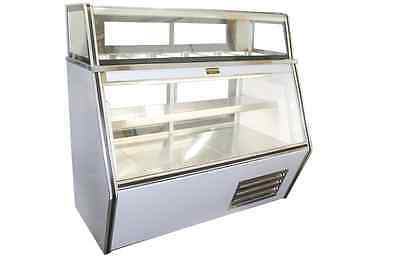 Cooltech Refrigerated 7-11 Dual-compartment Deli Meat Display Case 48