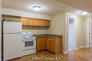 108b Coyote Cr 2 Bed Basement with full Kitchen Timberlea