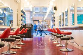 Hairdresser, Senior Stylist or Colourist for London Soho Salon.