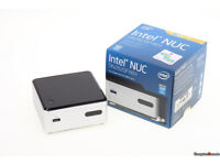 Intel NUC DN2820FYKH Small Form Factor HTPC with Wireless Keyboard