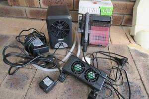 Aquarium Electricals - Water Cooler, pump, filter and fan East Cannington Canning Area Preview
