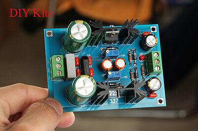 Lm317 Lm337 Adjustable Filtering Power Supply Ac-dc Voltage Regulator Psu Kits