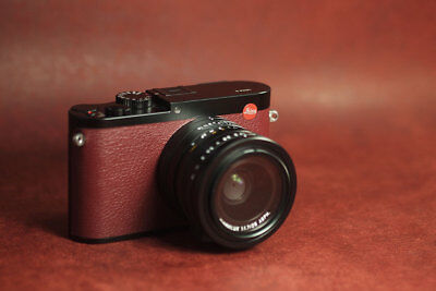 Leica Q2 Real leather skin, film  - Arte di mano -