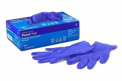 100box Cardinal Health Nitrile Disposable Gloves Powder And Latex Free S M L Xl