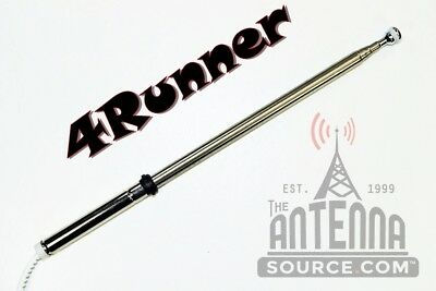 *Brand New* Power Antenna MAST + How 2 - Fits:1989-1995 Toyota 4RUNNER     Toyota Power Antenna Mast
