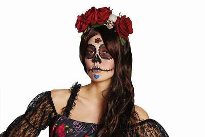 Rub - Kostüm Zubehör Haarreif La Catrina Zombiebraut - Braut Kostüm Zubehör