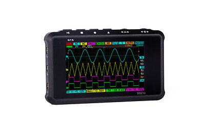 Mini Digital Storage Color Oscilloscope Metal Handheld Scope Dso213 Nano Black A