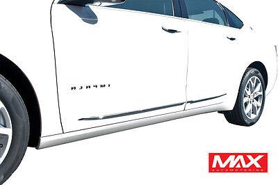 "14-17 Chevrolet Impala Lower Chrome Streamline Side Door Body Molding Trim 1/2"""
