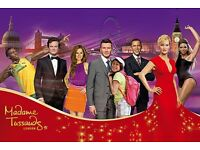 Madame Tussaud tickets 2 x sdult £20 for pair