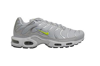 Mens Nike Tuned 1 Air Max Plus TN - CD1533002 - Pure Platinum Volt Dark Grey